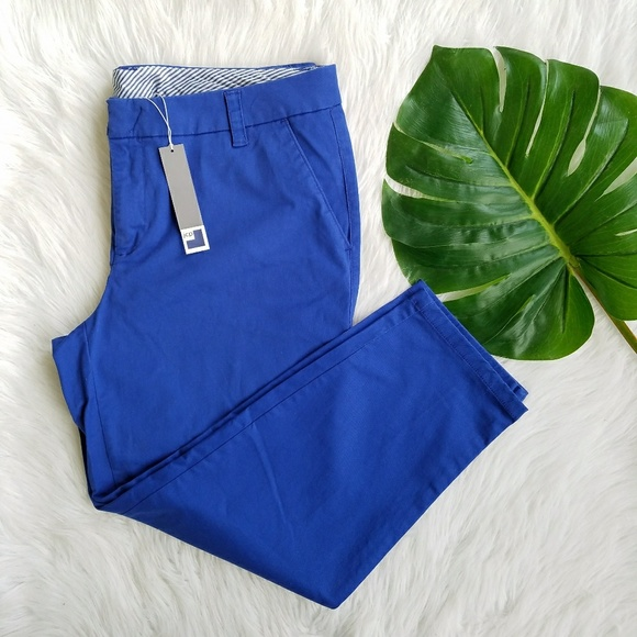 89c60a9d8dc JCPenney Plus Size Ankle Pants Blue